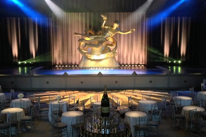 Tiffany & Co. Blue Book Gala at Rockefeller Center