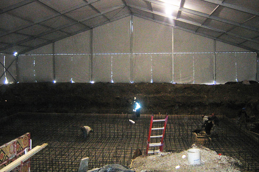 Construction Site Cover