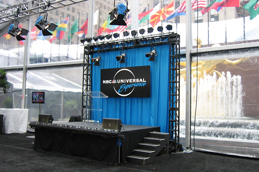 NBC Universal Staging