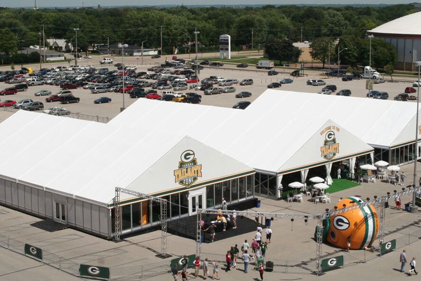Green Bay Packers Tundra Tailgate Zone